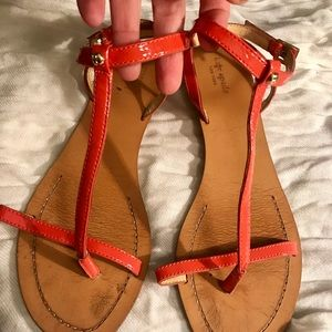 Kate Spade t-strap sandals 9